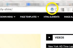 URL欄の右端に表示