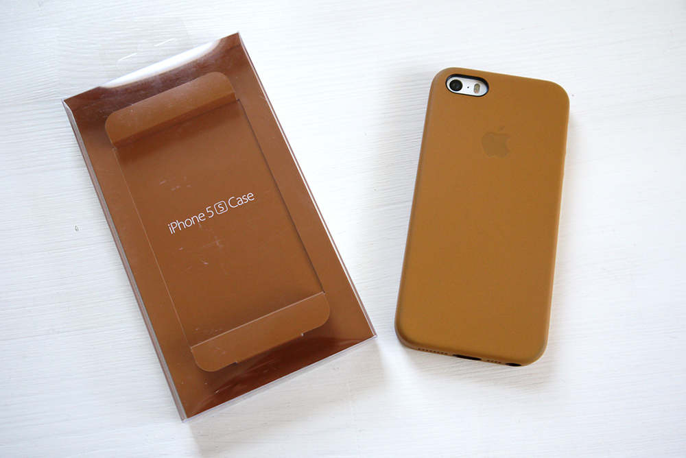 iPhone 5s Case - Brown パッケージ