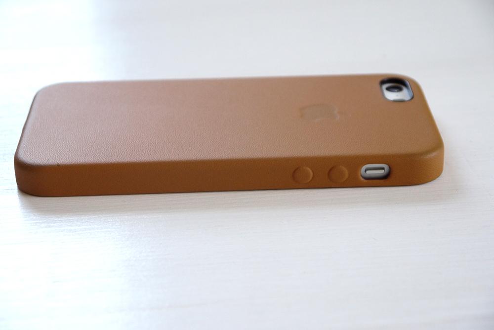 iPhone 5s Case - Brown 横から
