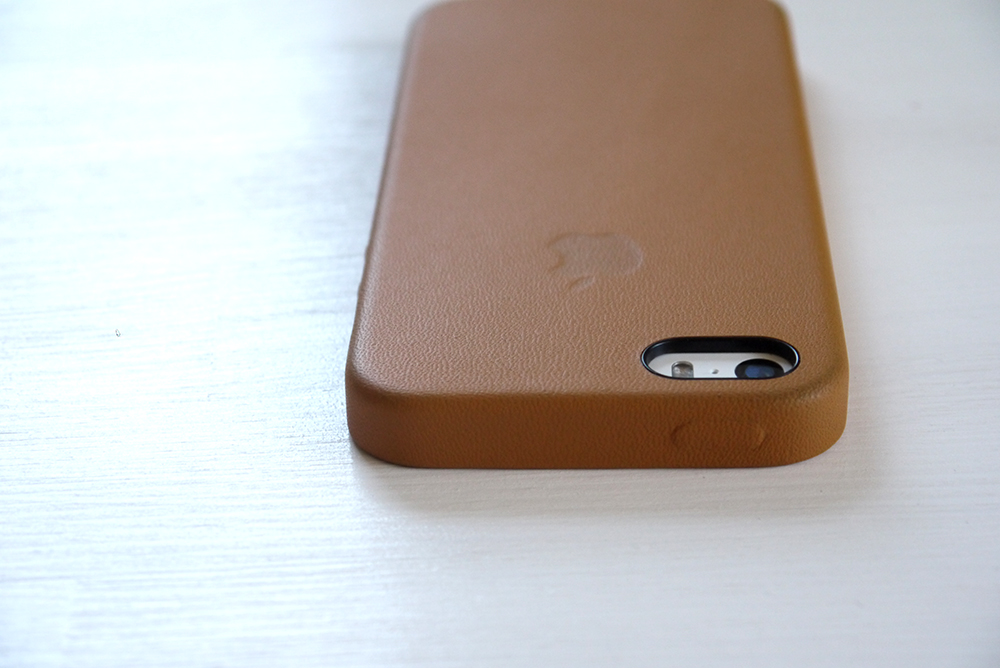 iPhone 5s Case - Brown 上から