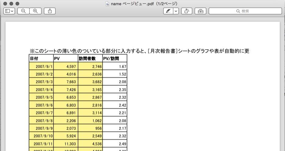 ExcelをPDFに5