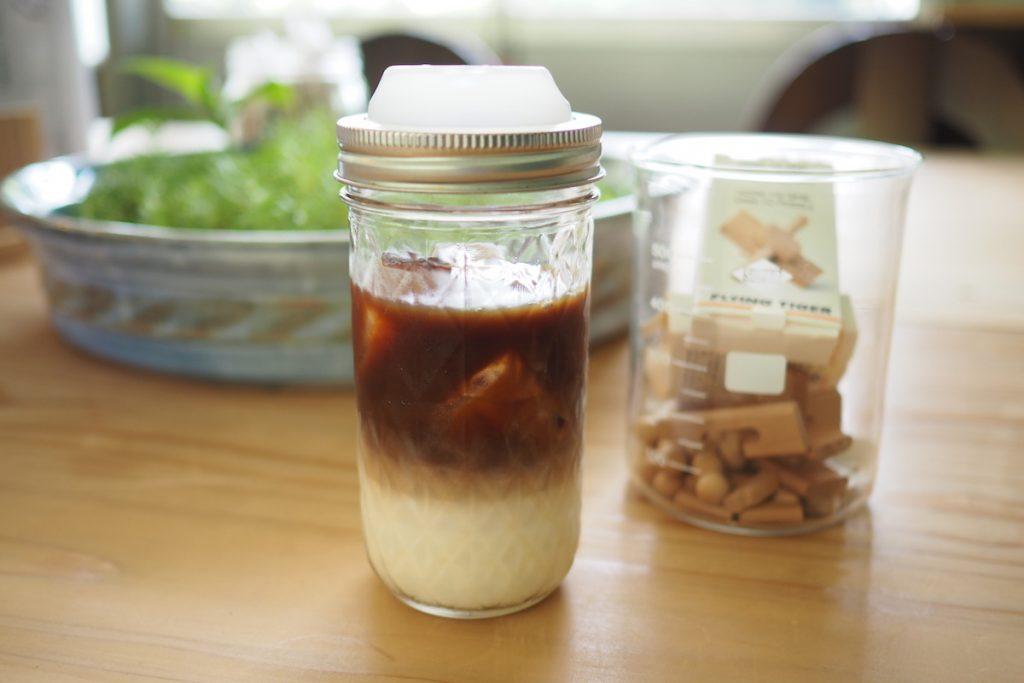 ツートンカラーのハレとケコーヒー